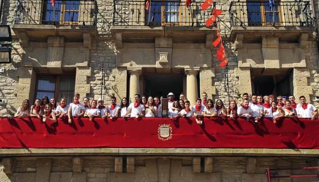Fotos del primer día de fiestas de Carcastillo