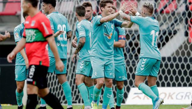 Osasuna gana en Holanda al Nimega con un gol de Marc Cardona