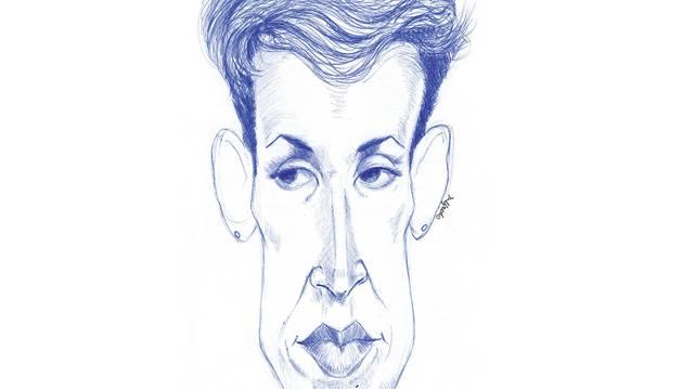 Caricatura de María Chivite