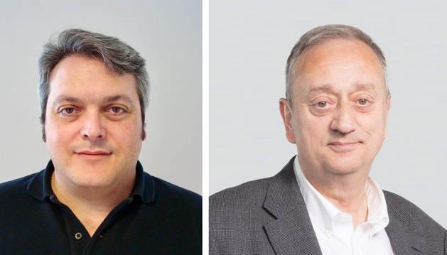 Federico Colmenar (izda.) sustituirá a Elma Saiz y Javier Leoz (dcha.) a Itziar Gómez