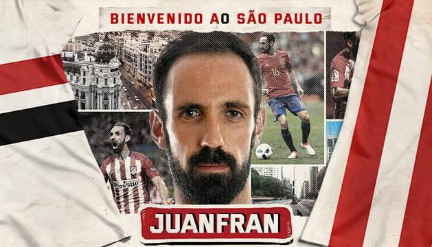 El Sao Paulo anuncia la contratación de Juanfran Torres