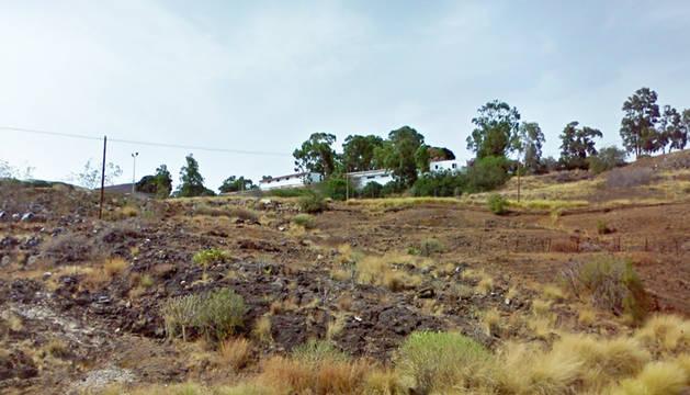 Imagen del acuartelamiento de la localidad tinerfeña de Hoya Fría.
