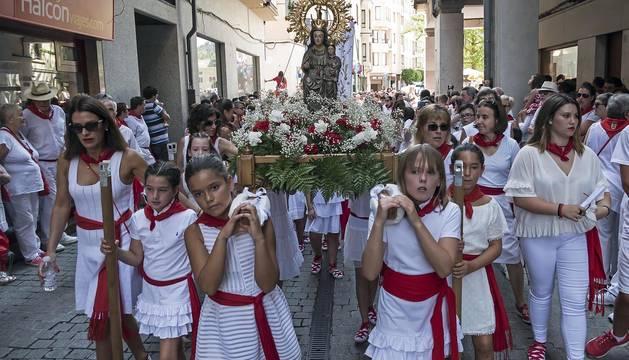 Galería de la procesión de fiestas de Estella 2019