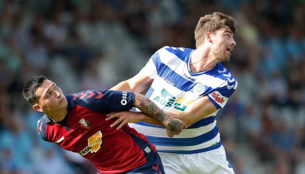 Osasuna gana su segundo partido en Holanda con goles de Chimy y Calvillo