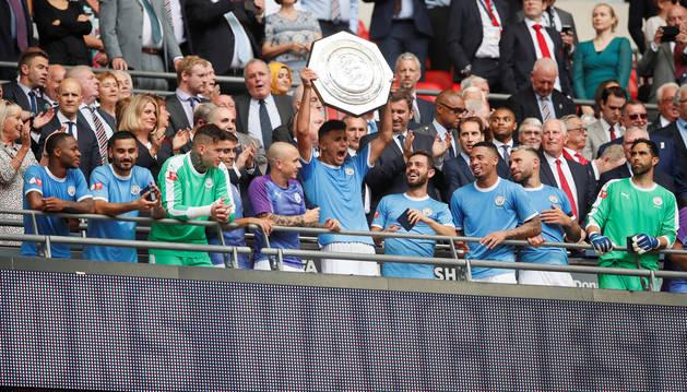 El Manchester City gana la Community Shield al Liverpool en los penaltis