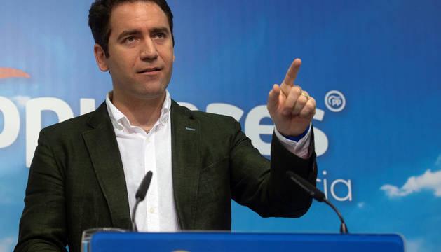 El secretario general del Partido Popular, Teodoro García Egea.