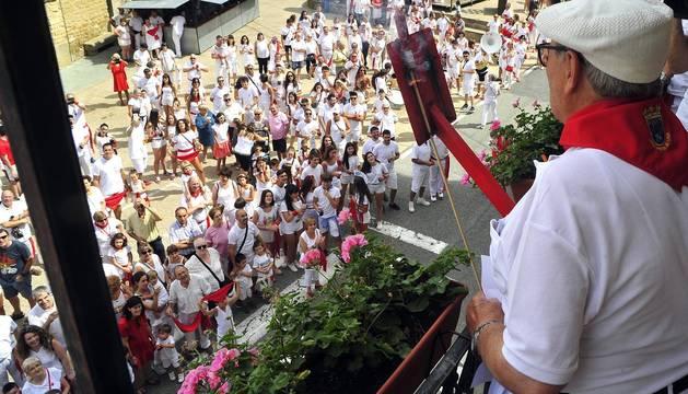 Todas las fotos del cohete de fiestas de San Martín de Unx 2019 en Diario de Navarra