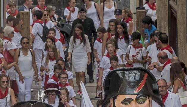 Galería de fotos del día del niño de las fiestas de Estella