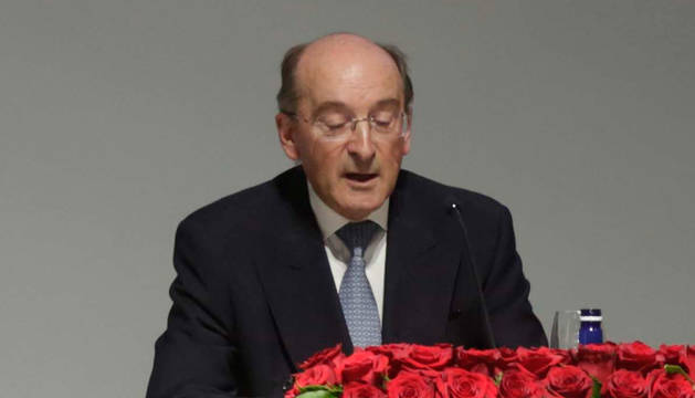 Juan Cruz Alli, expresidente de Navarra.