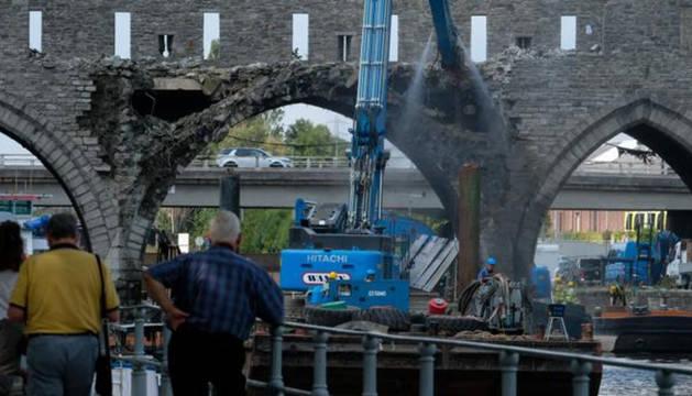 Foto del Puente de los Agujeros.