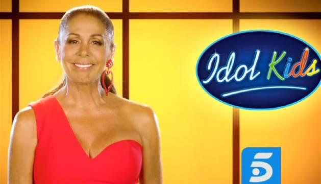 Isabel Pantoja en una imagen promocional de 'Idol Kids'.
