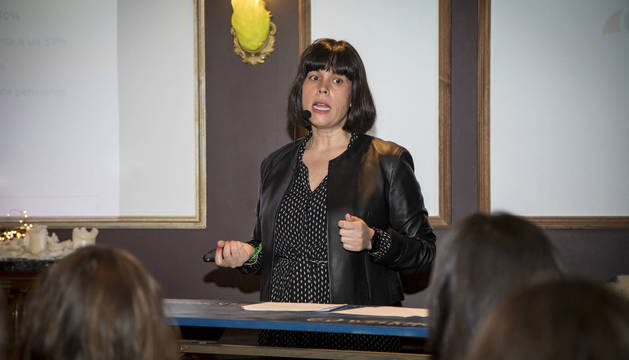 Foto de Eva Valero, directora del Observatorio de Pensiones de Seguros Caser.
