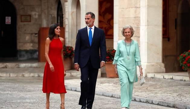 Fotos de la recepción de los Reyes en Mallorca