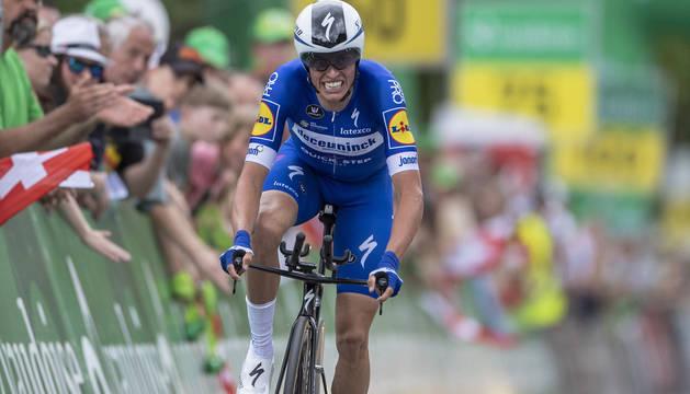 Enric Mas, en el Tour de Suiza de este año.