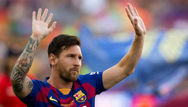 Leo Messi, nominado al premio de 'Mejor Delantero' de la Champions 2018-2019.