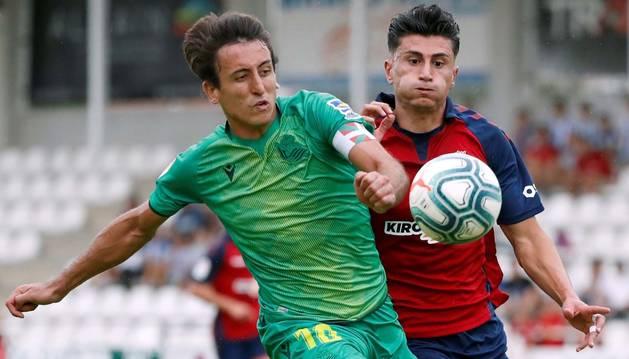 La Real Sociedad supera a Osasuna en Irún