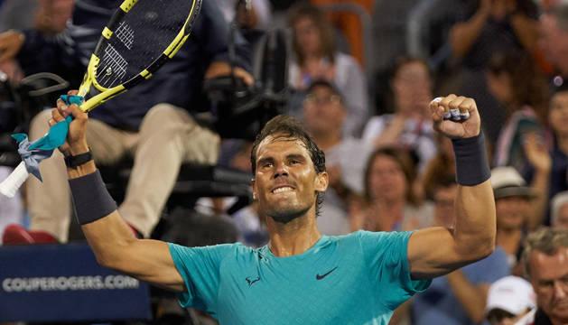 Nadal vence al argentino Pella y pasa a cuartos de final en Montreal