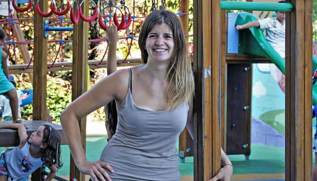 Maite Zugarrondo se muestra ilusionada con la nueva etapa que va a iniciar más allá del balonmano.