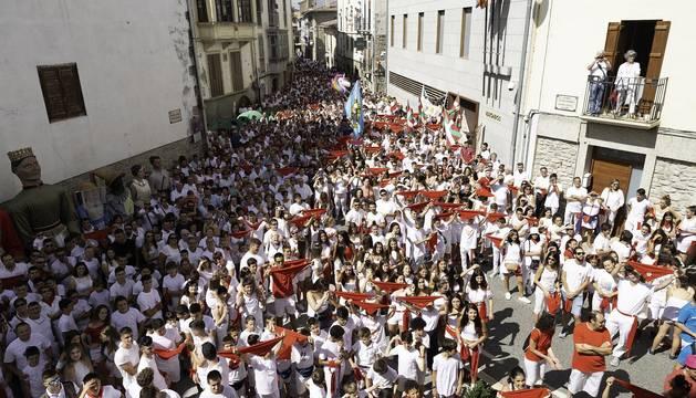 Todas las fotos del cohete de fiestas de Aoiz 2019 en Diario de Navarra