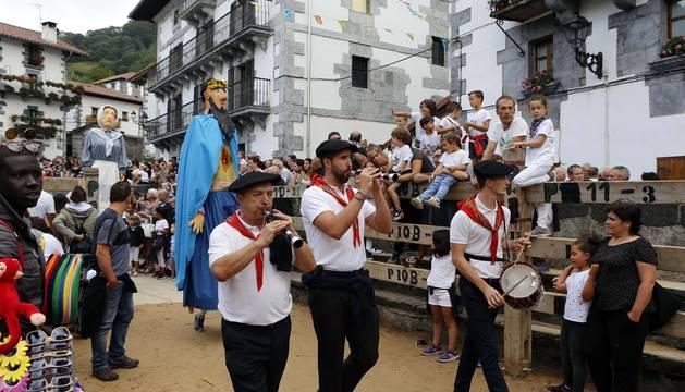Todas las fotos del cohete de fiestas de Leitza 2019 en Diario de Navarra