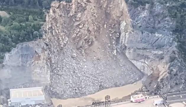 Una avalancha en Andorra deja cortada la carretera que da acceso a España