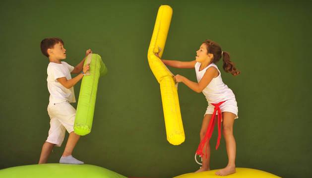 Actividades infantiles celebradas durante fiestas de Tafalla.