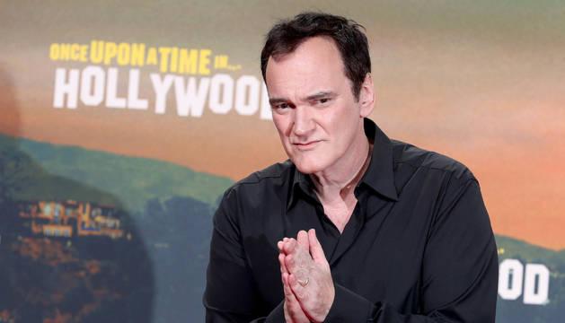Foto de Quentin Tarantino durante el estreno de 'Érase una vez en... Hollywood' en Berlín.