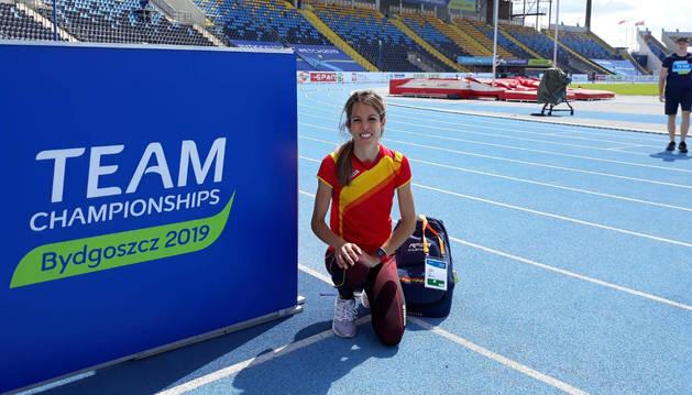 Maitane Melero participará hoy en el 5.000m de Bydgoszcz con una mejor marca personal de 15:35.87.