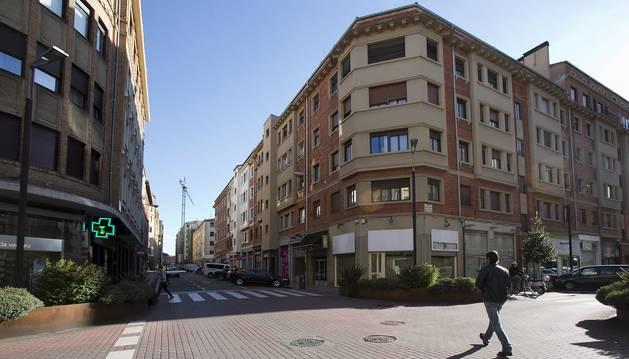 Foto de la calle Paulino Caballero, una de las populares entre los nuevos comercios.