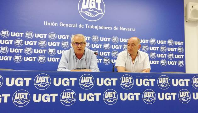 Foto del secretario general de UGT, Jesús Santos.