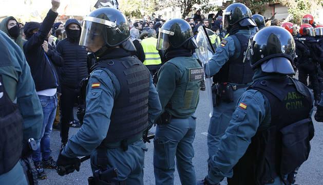 Foto genérica de la Guardia Civil en Alsasua