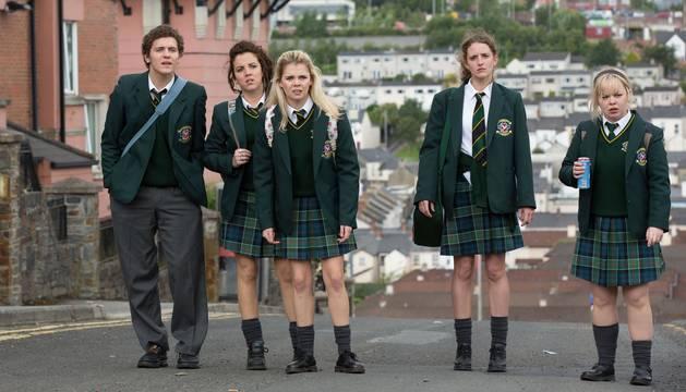 Fotógrama de la serie 'Derry Girls'