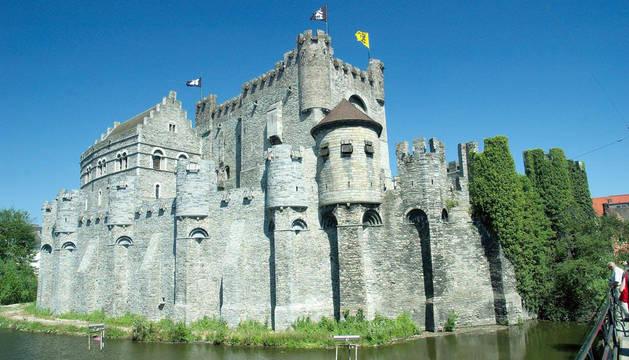 Foto del castillo de los Condes de Flandes.