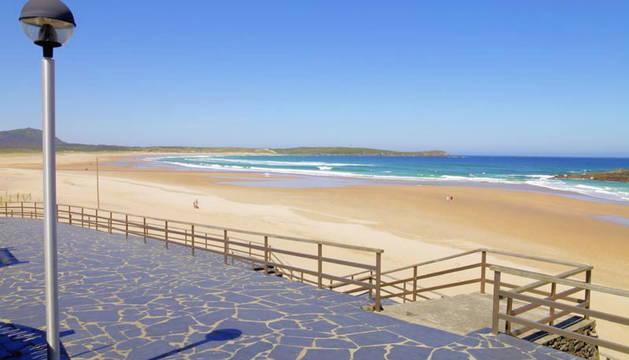 Playa de 'A Frouxeira' en Valdoviño.