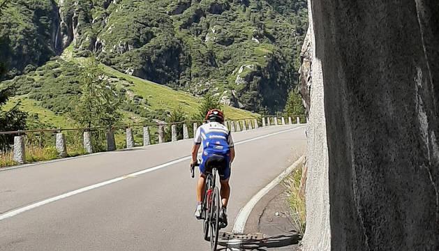 Iriberri en el camino hacia el Sustenpass, el pico más alto del TorTour.