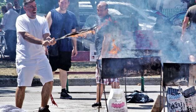 Todas las fotos de la costillada de Fiestas de Burlada 2019 en Diario de Navarra