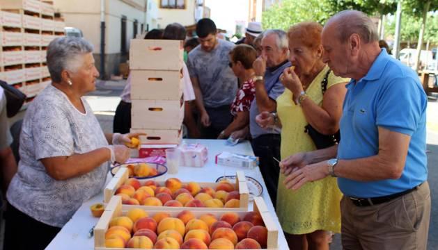 Fotos de la VIII Feria del Melocotón de Sartaguda