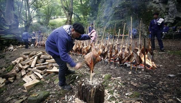Fotos del zikiro celebrado en Zugarramurdi