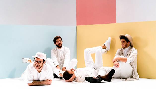 La banda madrileña Floridablanca actuará este lunes 19 de agosto en el Civican dentro del programa de conciertos 'Escena Civican'.