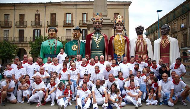 Galería de fotos del Día de las Personas Mayores de fiestas de Tafalla, el 19 de agosto de 2019