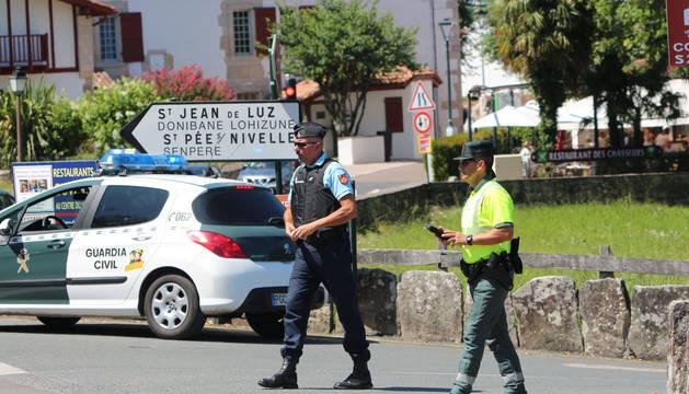 Tráfico insta a evitar el paso fronterizo de Irún del 23 al 26 de agosto con motivo del G-7