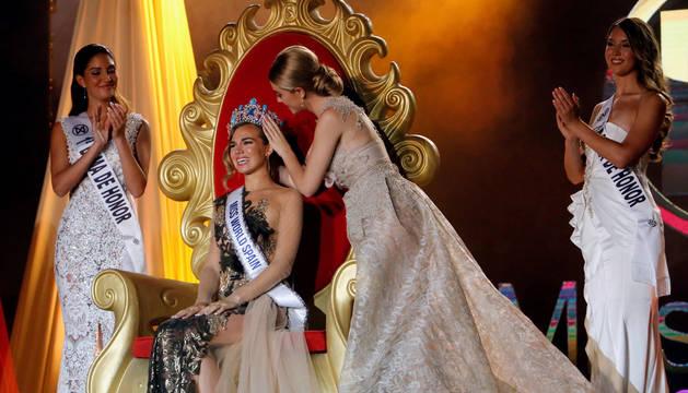 La navarra Amaia Izar ya tiene sucesora como Miss World Spain