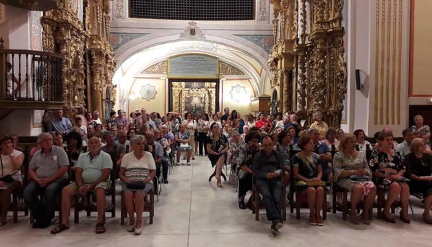 Numeroso público asistió a la presentación del libro de Andrés J. Sanz Fernández en el Museo Arrese de Corella.