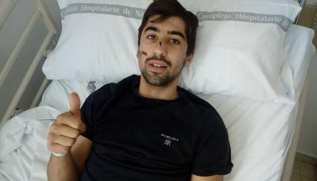 Luis Urrutia fue trasladado a planta después de tres días en la UCI.
