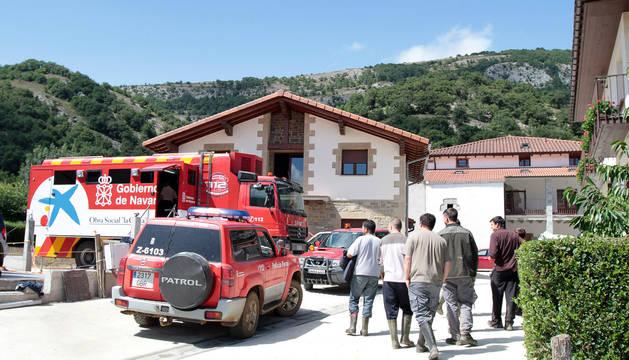Operativo de búsqueda movilizado por la desaparición en 2011 de un vecino de Egiarreta de 81 años. El hombre fue hallado vivo tras 26 horas a la intemperie.