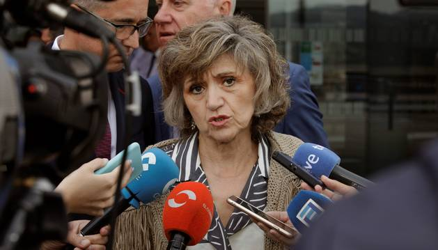 La ministra de Sanidad, Consumo y Bienestar Social en funciones, María Luisa Carcedo.