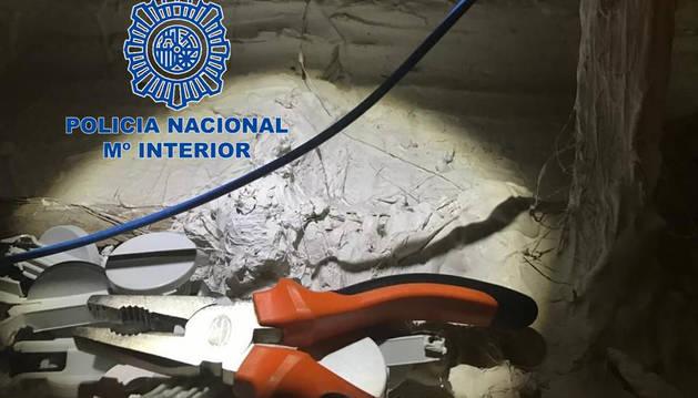 Detenido un hombre como presunto autor de un hurto de 4.500 euros en Navarra