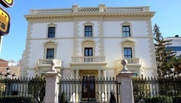 El Palacio de Gobierno de La Rioja.