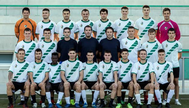 El Pamplona de Xabi Mata es la plantilla más joven de Tercera con una media de edad de 21,9 años.