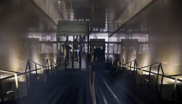 El ascensor de Descalzos estará en obras hasta mediados de septiembre.